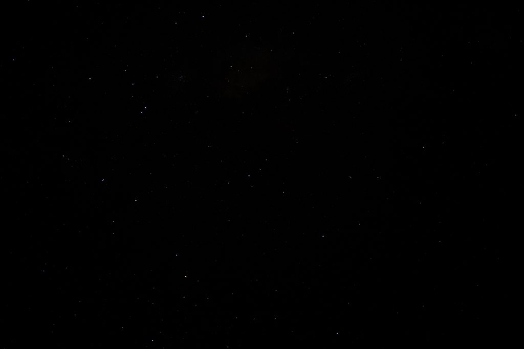 Astrophotography - Before the Sky Explosion Lightroom Preset is applied
